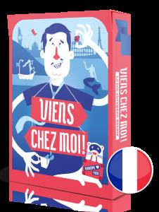 Viens Chez Moi - card deck